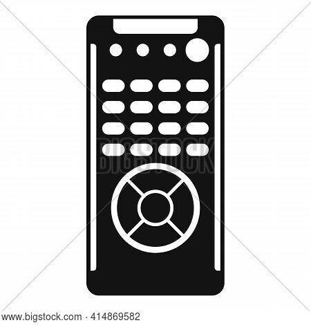 Channel Remote Control Icon. Simple Illustration Of Channel Remote Control Vector Icon For Web Desig
