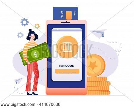 Financial Transactions, Cashless Payment Transactions. Pos-terminal And Payment Systems, Cryptocurre