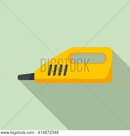 Portable Steam Cleaner Icon. Flat Illustration Of Portable Steam Cleaner Vector Icon For Web Design