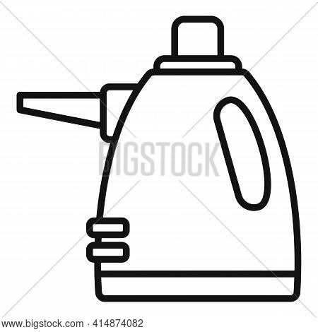 Purity Steam Cleaner Icon. Outline Purity Steam Cleaner Vector Icon For Web Design Isolated On White