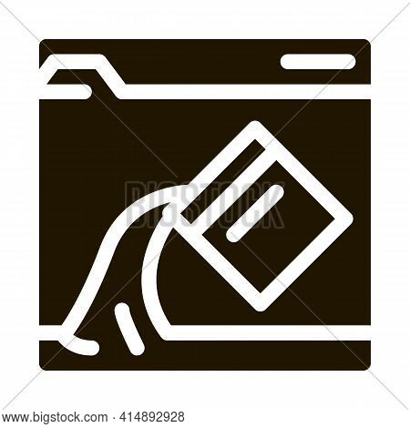 Web Site Page Color Drawing Glyph Icon Vector. Web Site Page Color Drawing Sign. Isolated Symbol Ill