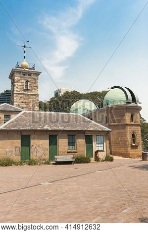 Sydney Observatory is an astronomical observatory, museum, meteorological station located on Observatory Hill in Sydney, New South Wells - Australia. It was built in 1859