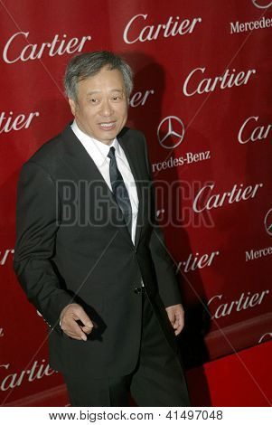 PALM SPRINGS, CA - JAN 5: Ang Lee arrives at the 2013 Palm Springs International Film Festival's Awards Gala at the Palm Springs Convention Center on Saturday, January 5, 2013 in Palm Springs, CA.