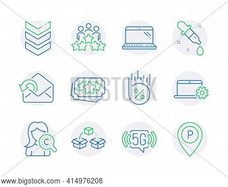 Business Icons Set. Included Icon As Parcel Shipping, Collagen Skin, Send Mail Signs. Loan Percent,