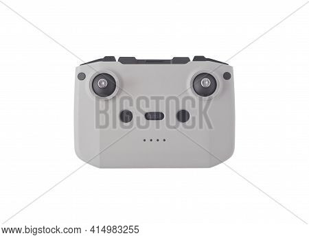Wireless Remote Controller For Multirotor Isolated On White