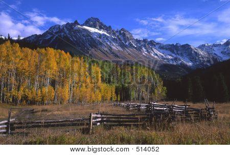 Mt. Sneffels & Corral