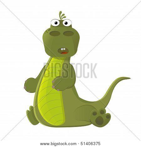 Little Cute Dinosaur