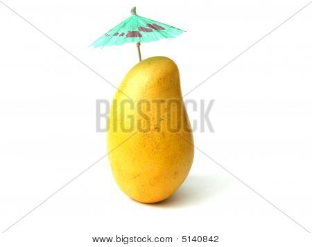 Tropical Mango And Parasol