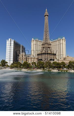The Paris And Ballys Hotels In Las Vegas, Nv On May 20, 2013