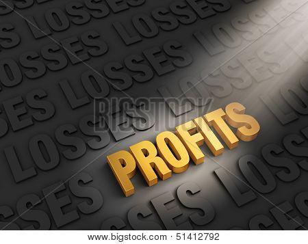 Profits Outshine Losses