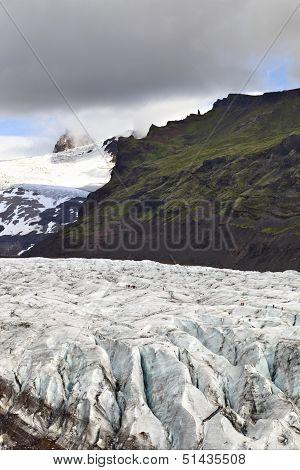 Hiking the Svinafellsjokull Glacier, Iceland
