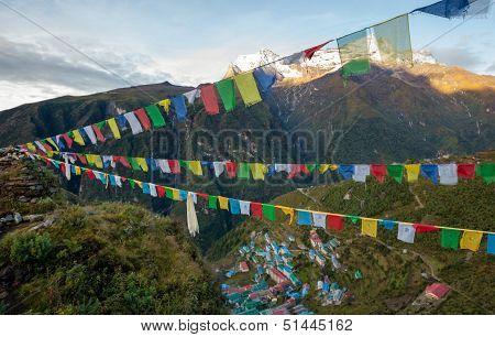 Namche Bazar - Biggest Village In Khumbu Valley, Nepal