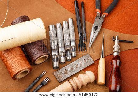 DIY leather craft tool