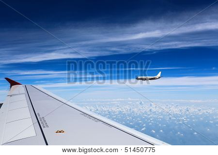Airplane In The Air