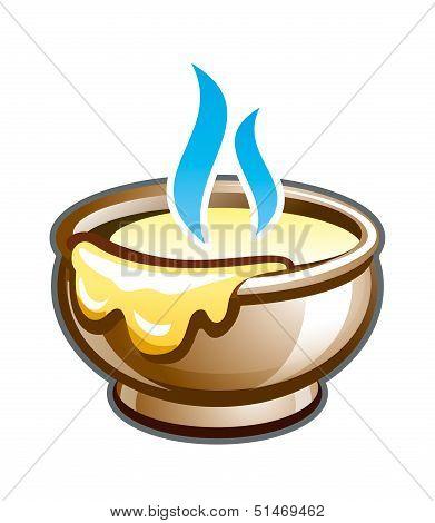 Porridge in the pot