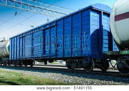 Rail Freight Wagon