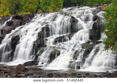 Bond Falls is a beautiful waterfall in the upper peninsula of Michigan. poster