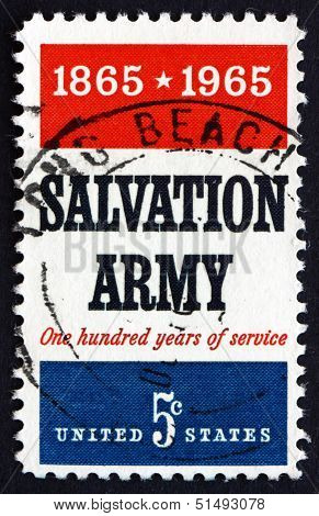 Postage Stamp Usa 1965 Salvation Army