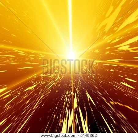 Abstraction  2d glowing  background for various design artworks poster