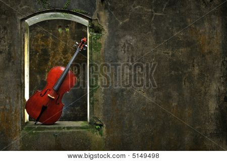Monuments Mottled Window And Cello 2