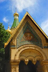 The Russian church in Sofia