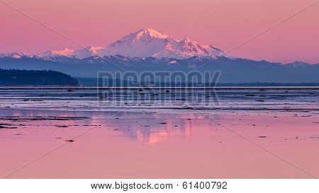 Mount Baker reflection