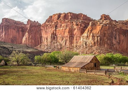 Capitol Reef farm