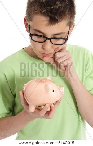 Bo Thinking  With Money Box - Savings,  Finances