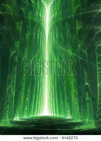 Matrix / The Street - fractal illustration