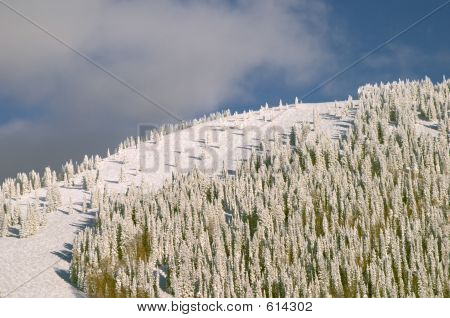 Mountain At Winter