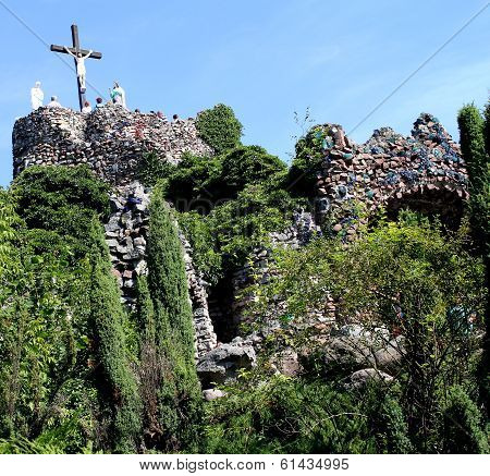 Sanctuary Of Our Lady In Lichen - Poland, Golgotha