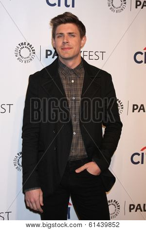 LOS ANGELES - MAR 13:  Chris Lowell at the PaleyFEST Vernoica Mars Event at Dolby Theater on March 13, 2014 in Los Angeles, CA
