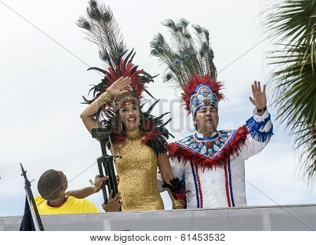 Carnival King and Queen