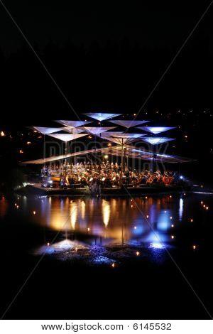 Leigo Lake Music Festival. Leigo, Estonia