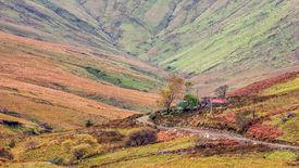 Irish Connemara landscape