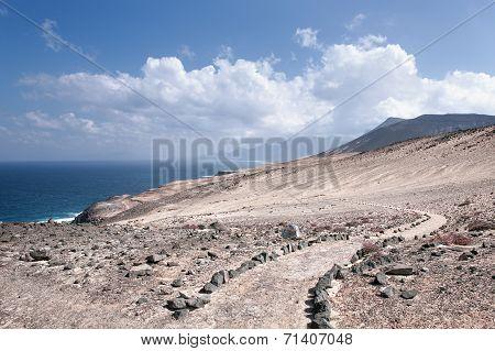 Fuerteventura - Trail above Caleta de la Madera