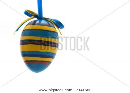 Striped Easter Egg