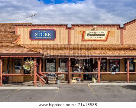 Old West Shopping Mall