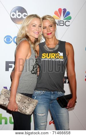 LOS ANGELES - SEP 5:  Cynthia Daniel, Brittany Daniel at the Stand Up 2 Cancer Telecast Arrivals at Dolby Theater on September 5, 2014 in Los Angeles, CA