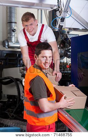 Storekeepers Preparing Shipment