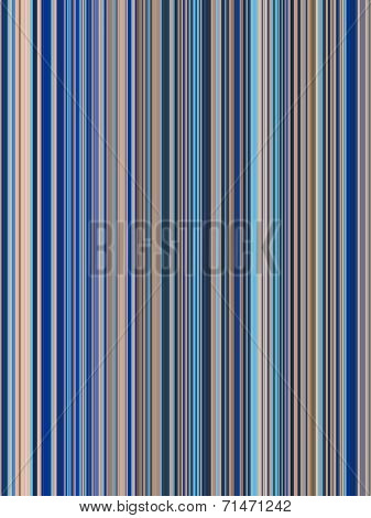 Blue Stripes Abstract Background