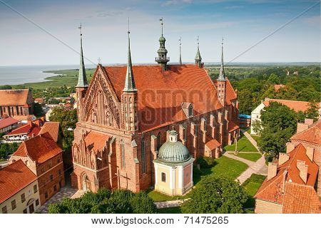 Frombork Cathedral,  place of Copernicus  burial