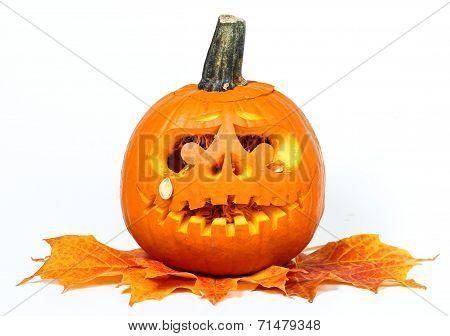 Scary Halloween pumpkin (Jack O Lantern)