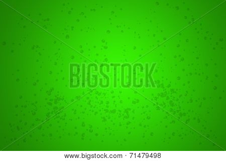 Bubbly Green Background