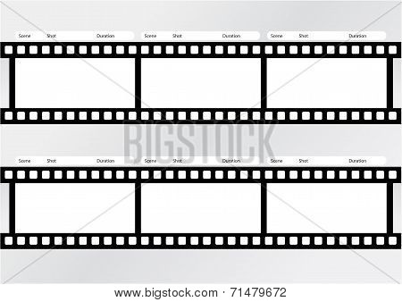 Professional Storyboard Film Strip Vector  Photo  Bigstock
