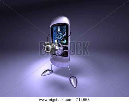Mobile Phone Photo Shooting