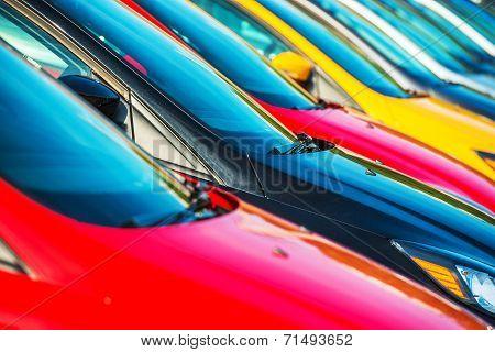 Modern Cars Stock