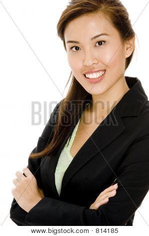 Asian geschäftsfrau