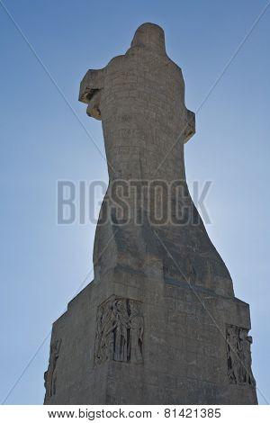 Christopher Columbus Huge Statue