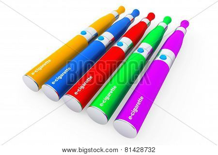Multicolour Electronic Cigarettes